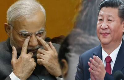 If not 'red eyes', show courage: Congress dares Modi to raise Doklam issue with China