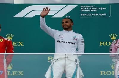 Sebastian Vettel wins Azerbaijan Grand Prix after Red Bull collision