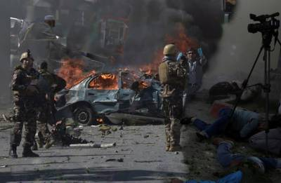 Afghanistan: Kabul twin blasts claim 25 lives, six journalists among dead; IS claims responsibility