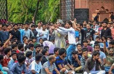 AMU-Jinnah portrait row: JNU, Jamia, Allahabad University students join stir