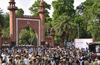 Aligarh Muslim University-Jinnah violence: What's in a name?