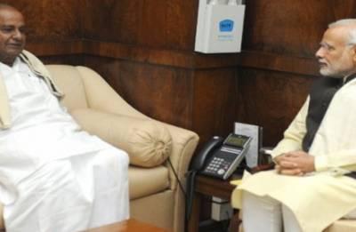 Can Modi's 'secret' understanding with JD-S help BJP clinch power in Karnataka?
