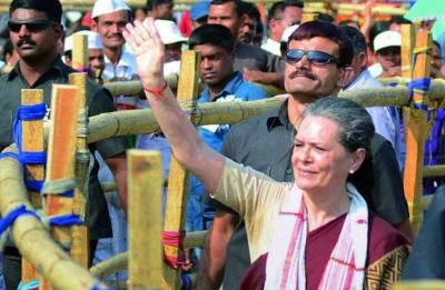 Will Sonia Gandhi's presence in Karnataka raise the morale of Congress cadres?