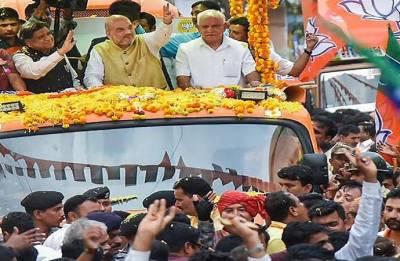 BJP chief Amit Shah warns Karnataka voters to not fall into Congress' trap