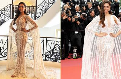 Cannes 2018: Deepika Padukone DAZZLES in white gown and you can't take your eyes off her (see pics)