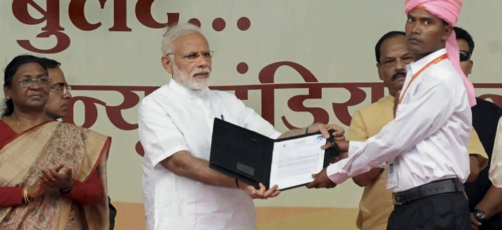 PM Modi releases his achievement-list on 4th anniversary of NDA govt (Photo Source: PTI)