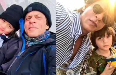 Throwback Sunday: When birthday boy AbRam went skiing with daddy dearest Shah Rukh Khan (watch video)