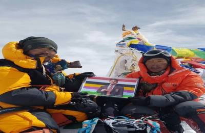 Arunachalee mountaineers Kishon Tekseng and Taka Tamut scale Mt Everest without sherpas
