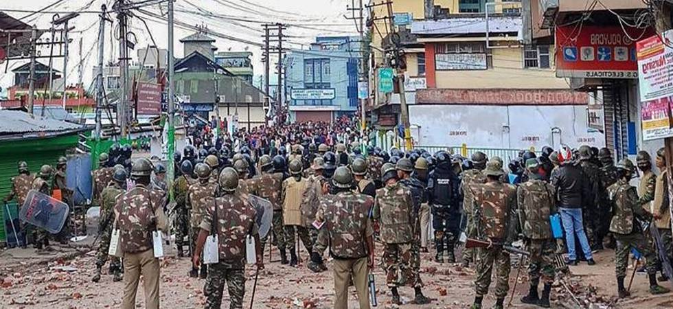 Fresh clashes in Shillong, Centre to deploy six more companies of paramilitary forces (PTI Photo)
