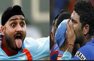 When Yuvraj Singh Twitter trolled by Harbhajan Singh over power cut