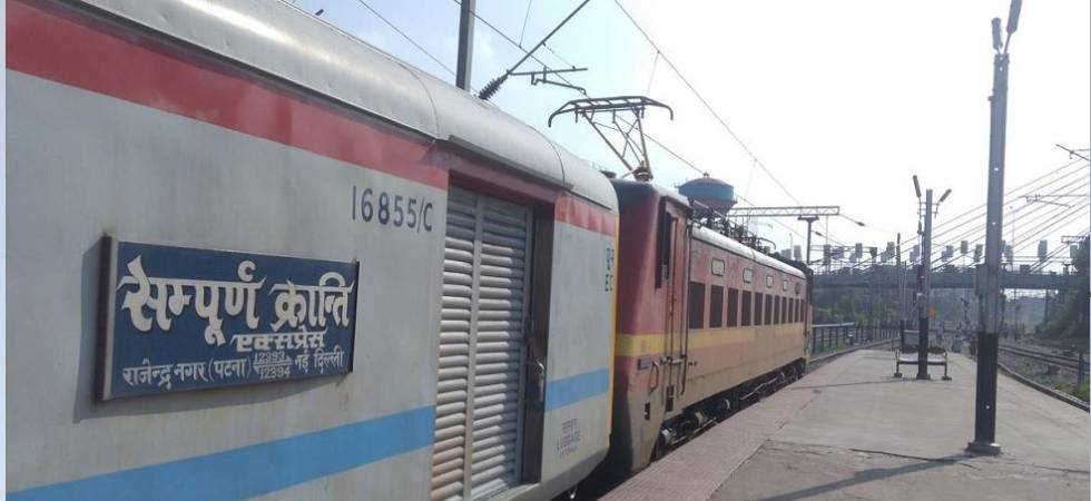 Power car of Sampoorna Kranti Superfast Express derails at Ghaziabad (Representative Image)