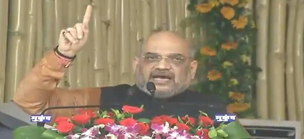 Chhattisgarh: Amit Shah attacks Rahul Gandhi for seeking account of BJP's works (Photo: Twitter/BJP)