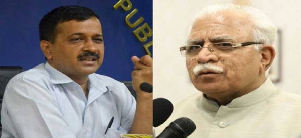 Withdraw cases, get additional water supply, says Khattar to Kejriwal