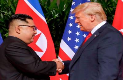 Summit with Kim takes world 'a big step back from potential nuclear catastrophe': Trump
