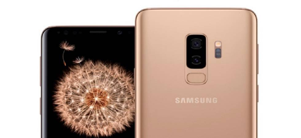 Samsung Galaxy S9+ Sunrise gold edition now in India at Rs 68,900