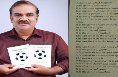 Meet Vashisht Manikot - the man with poems on football in FIFA's magazine