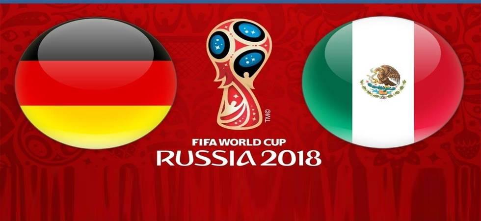 FIFA World Cup 2018 Live Score, Germany vs Mexico