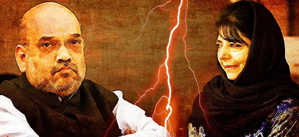 BJP-PDP split in Kashmir – The inevitable fall (File Photo)
