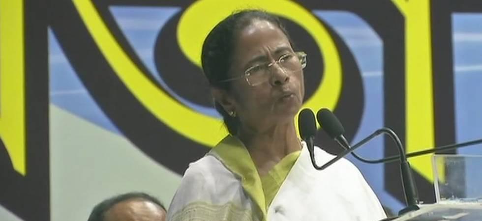 West Bengal CM Mamata Banerjee equates BJP to 'militant organisation' (ANI Photo)
