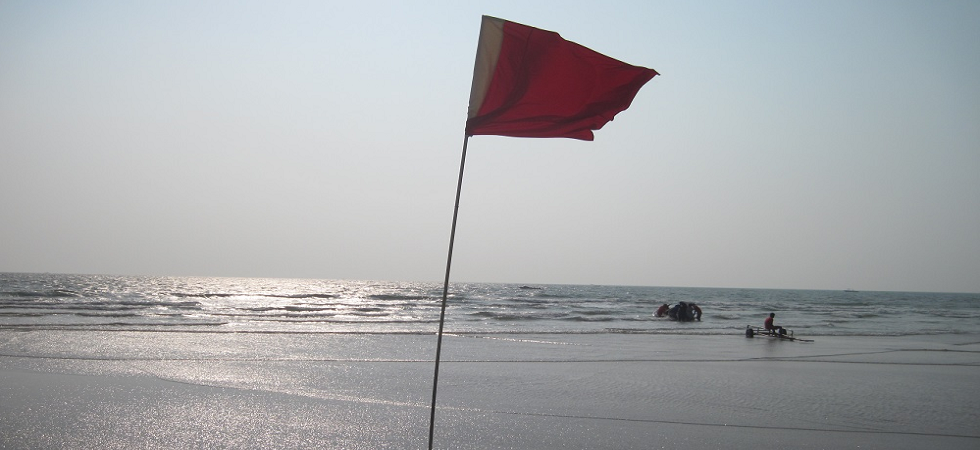 Red flags go up in Goa beaches