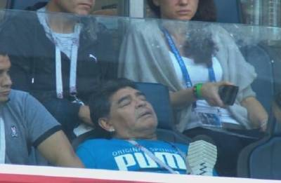 Diego Maradona says 'I am fine' after World Cup health scare