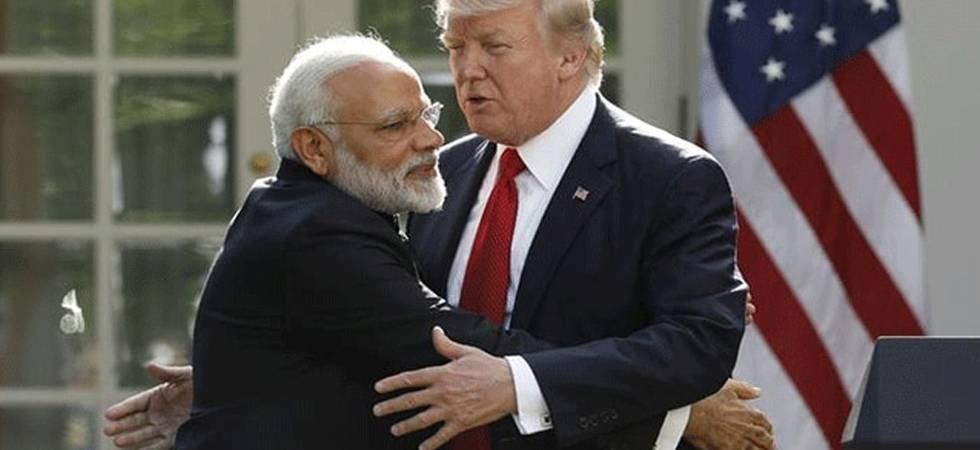 Ahead of maiden 2+2 meet, Trump accuses India of charging 100 per cent tariffs