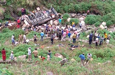 Uttarakhand: 47 killed as bus falls in 700-feet deep gorge in Pauri Garhwal