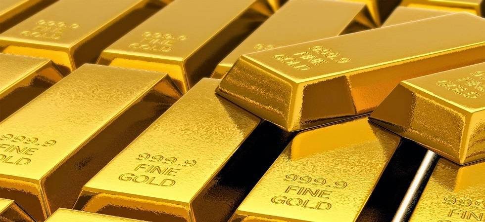 Gold prices rose by Rs 210 to Rs 31,570 per 10 grams at the bullion market on Wednesday