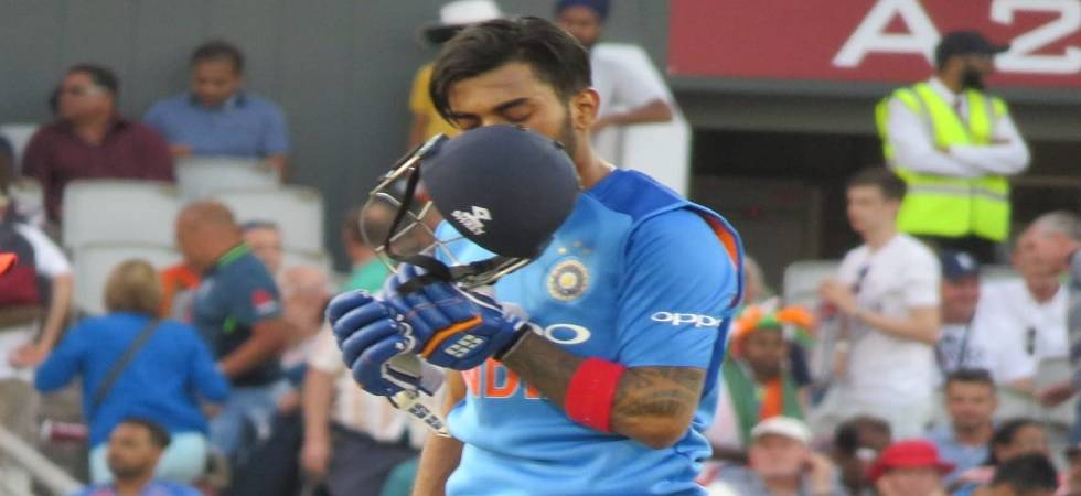 While you were sleeping, KL Rahul storm devastated England in 1st T20 (Photo: Twitter/BCCI)