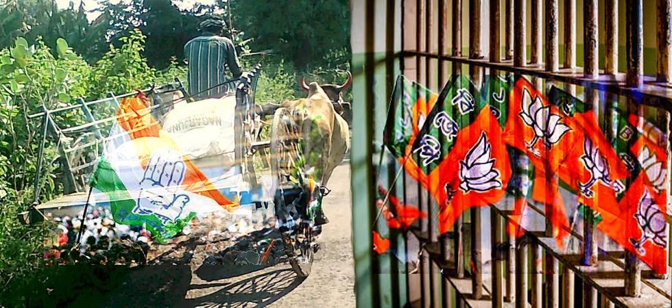 Congress hits back on Modi's 'bail gadi' jibe, terms BJP 'jail gadi'
