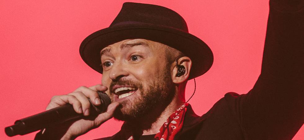 Justin Timberlake to screen FIFA World Cup semifinal at his 'Suit and Tie' concert (Photo: Twitter)