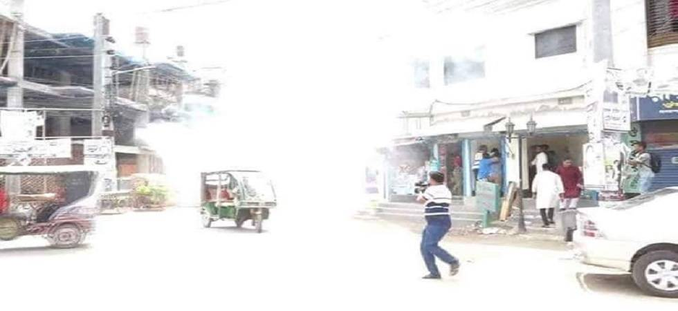 Five injured in bomb blast at BNP rally for civic polls in Bangladesh (Photo: Twitter)