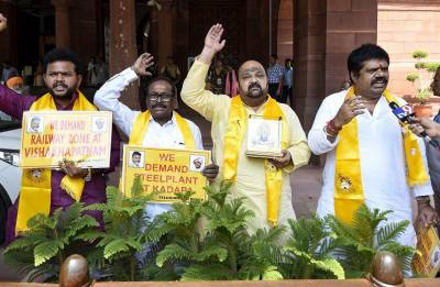 No-confidence motion: BJP, TMC, TDP issue whips to MPs over Friday's debate in Lok Sabha