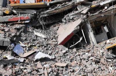 Noida: Under-construction building collapses, one dead, three injured