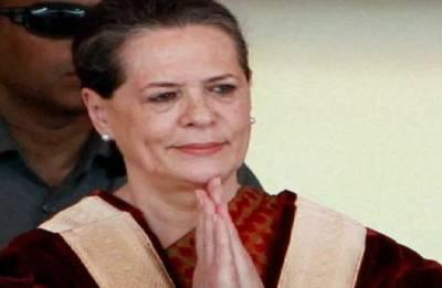 Sonia attacks Modi govt, says dangerous regime compromising democracy
