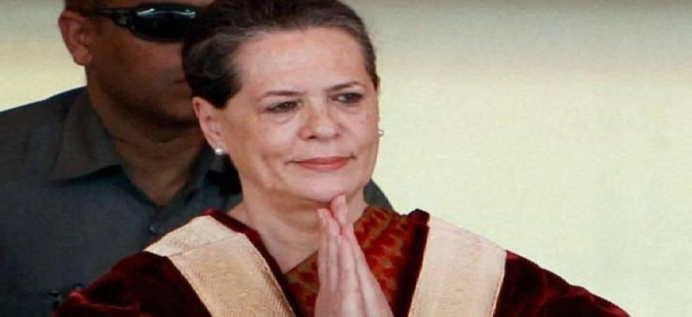 Sonia attacks Modi govt, says dangerous regime compromising democracy (File Photo- PTI)