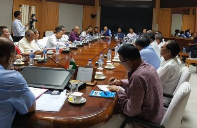 Manipur parties for special Assembly session on Naga issue