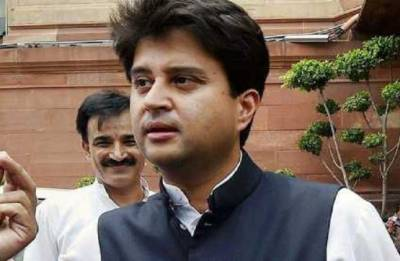 Have you never winked in your life? Congress leader Jyotiraditya Scindia to journalists