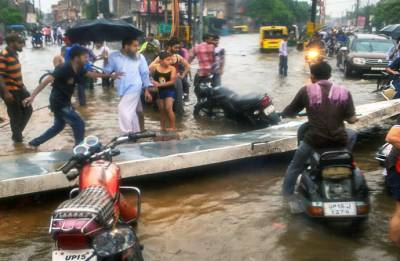 30 killed as heavy rains wreak havoc in Uttar Pradesh