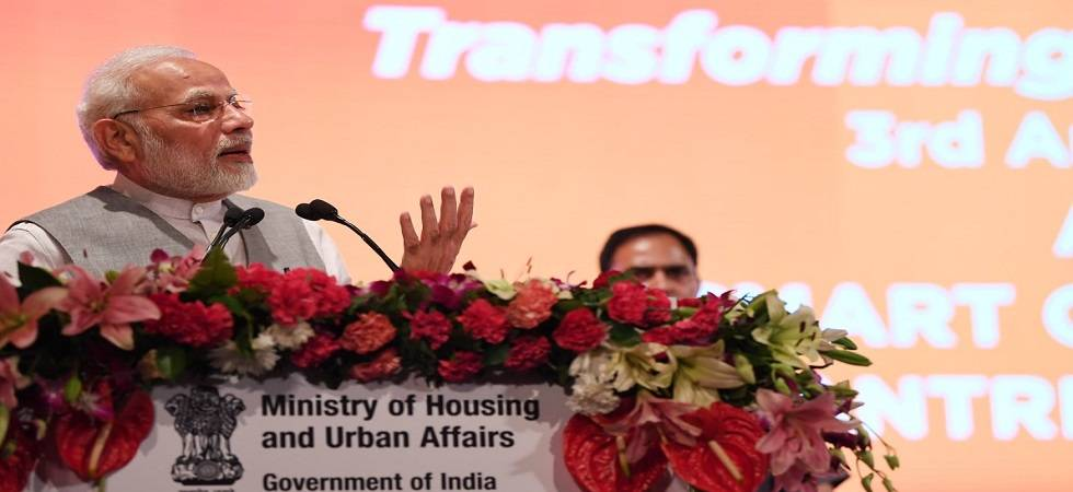 PM Modi promises 'pakka makaan' to poor, homeless by 2022 (Photo:Twitter/@PIB)