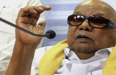Vice President Naidu visits hospital to inquire about Karunanidhi's health