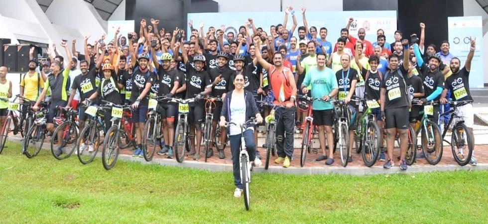 Kochiites take part in WWF India's Pedalathon (Photo- Twitter/@SakshiGaur7)