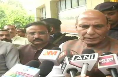 There should be no politics over NRC: Rajnath