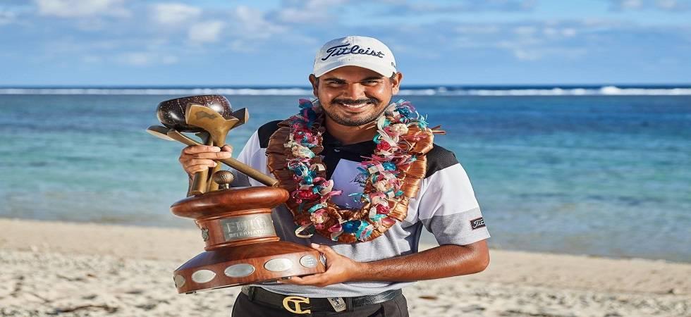 Gaganjeet Bhullar claim his maiden European Tour title (Photo- Twitter/@asiantourgolf)
