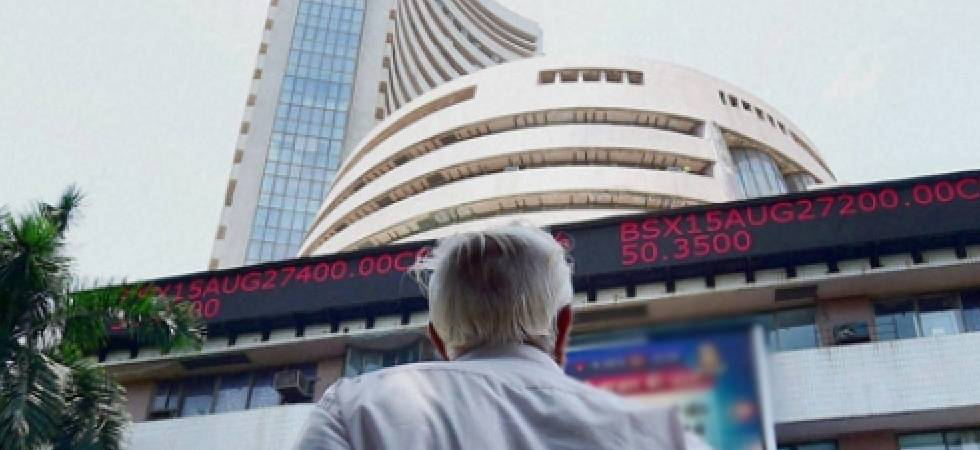 Sensex, Nifty open at record highs; pare gains amid trade war worries