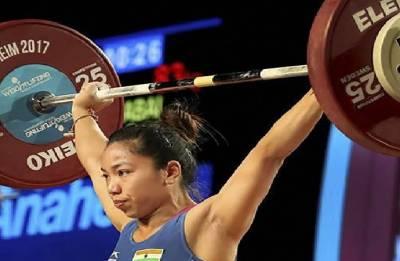 Asian Games 2018: Mirabai Chanu pulled out