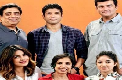 The Sky is Pink: Priyanka Chopra returns to Bollywood;  shares selfie with Farhan Akhtar, Zaira Wasim