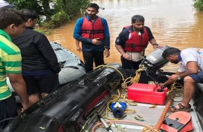 Operation Madad: 55 people evacuated from flood-hit areas in Kerala; toll rises to 28