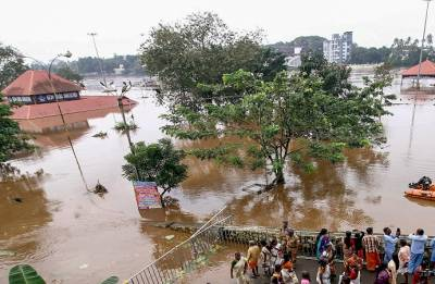 Kerala flood situation worsens; toll rises to 37, more rains alert