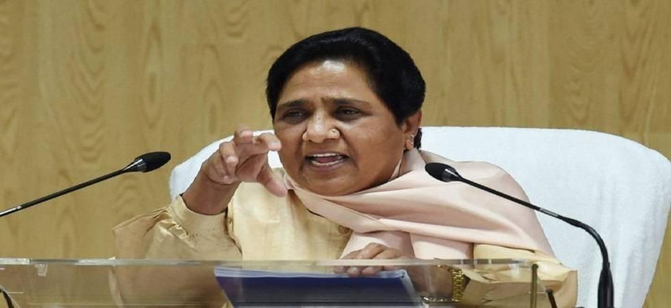 Mayawati slams UP govt's move to appoint Lok Kalyan Mitras (File Photo- PTI)